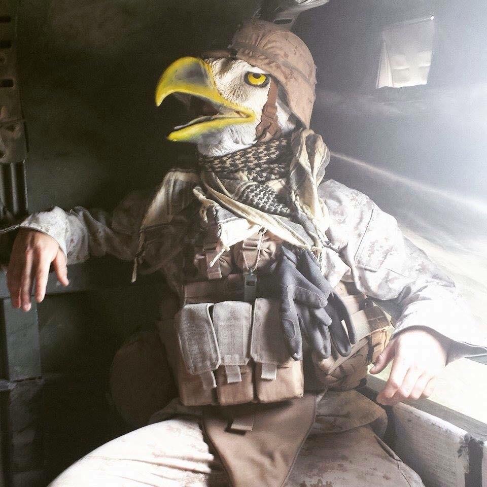 soldier eagle head