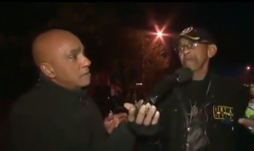 Vietnam Veteran & Baltimore Resident Humbles Rioters on Live