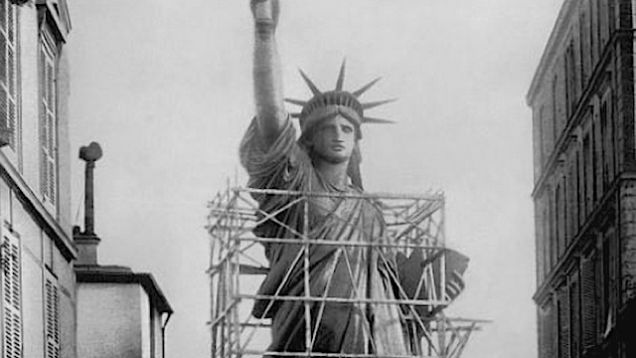 132 Years Ago Today The Statue Of Liberty Arrived In New