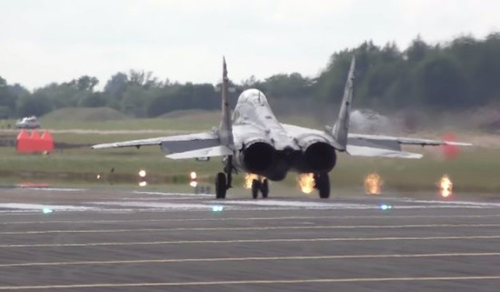 Mig-29 Lift Off Photo - The SITREP Military Blog