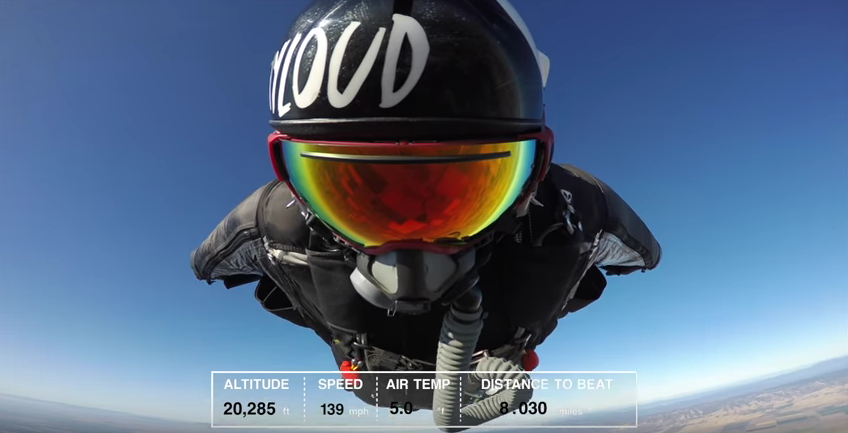 Navy seal shatters wingsuit record soars for 18 miles the sitrep military blogthe sitrep - Military wingsuit ...