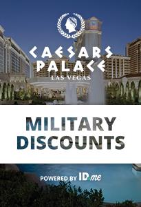 Caesars Military Discount
