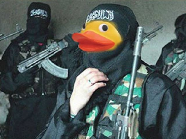 New Rage Photoshopping Isis As Rubber Duckiesthe Sitrep