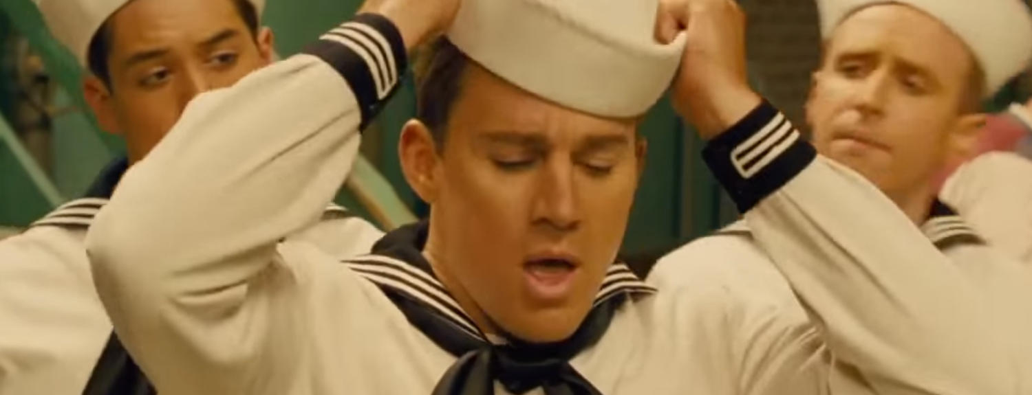 CHANNING TATUM SINGING AS NAVY SAILOR - THE SITREP MILITARY BLOG