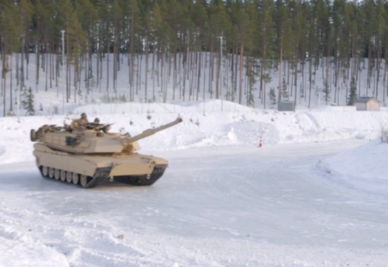 NORWAY BATTLE TANK ICE SKATING HERE - THE SITREP MILITARY BLOG