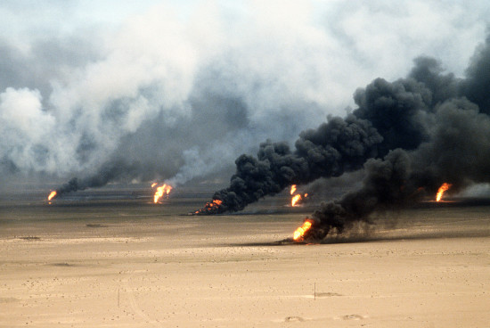 Gulf War Cease Fire Photo - The SITREP Military Blog