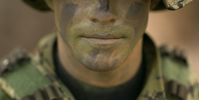 Navy SEAL Creates Waterproof Face Paint for the MilitaryThe
