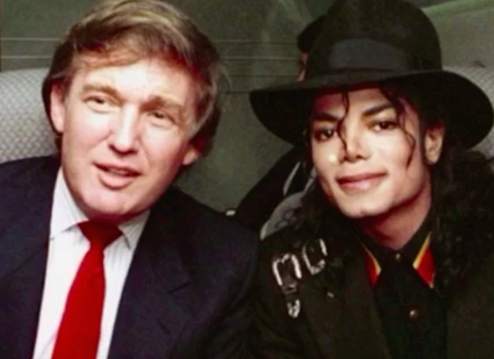 HERE'S TRUMP DOING A MICHAEL JACKSON IMPRESSION - THE SITREP MILITARY BLOG