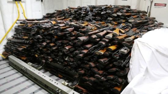 Iranian Guns Image - The SITREP Military Blog