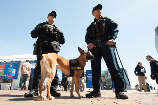 Boston Marathon K-9 Photo - The SITREP Military Blog
