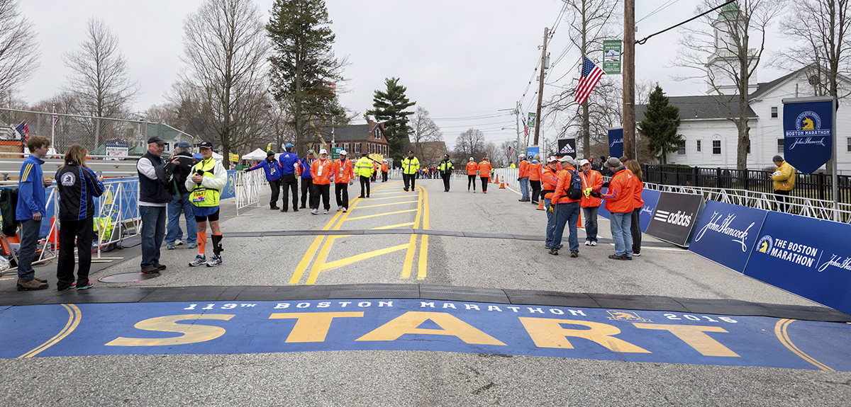 Boston Marathon Photo - The SITREP Military Blog