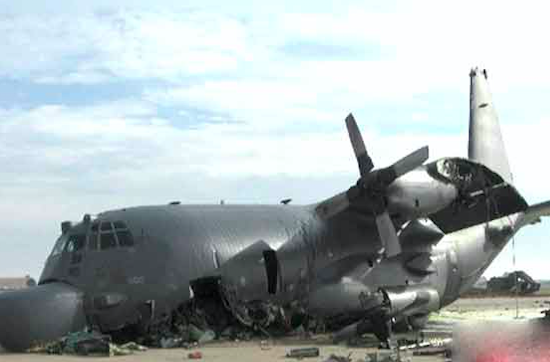 Air Force Reveal Bizarre Cause Of C 130 Crash Airmen