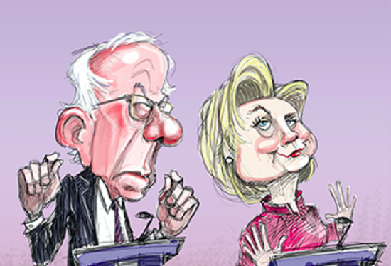 BAD LIP READING PRESENTS BERNIE AND HILLARY IN BROOKLYN - THE SITREP MILITARY BLOG