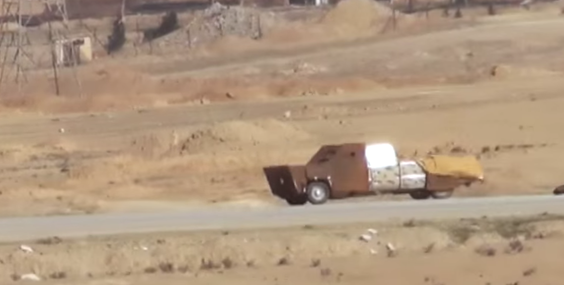 SEE US WEAPON SAVES KURDS FROM SUICIDE BOMB TRUCK - THE SITREP MILITARY BLOG