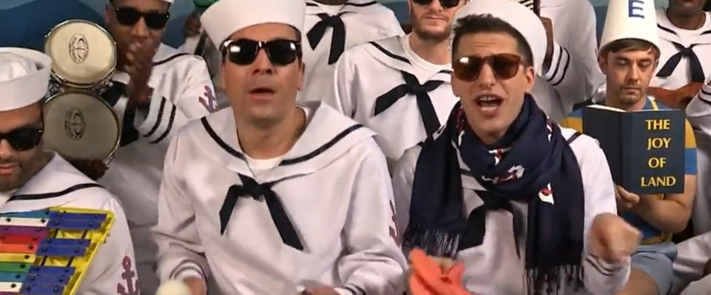 FAMOUS PEOPLE DRESS UP AS NAVY SAILORS TO GET ATTENTION - THE SITREP MILITARY BLOG