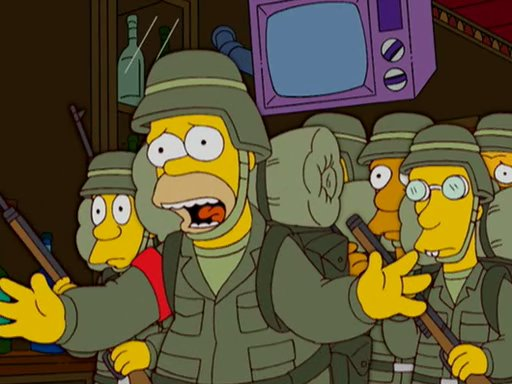 A Guide To The Best Military Episode Of The Simpsonsthe Sitrep