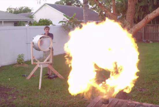 THIS KID BUILT A FREAKING CANNON IN HIS BACKYARD - THE SITREP MILITARY BLOG
