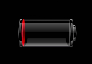 iphone battery photo for post