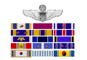 military lapel photo for post
