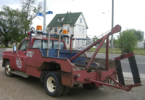 towing photo for post