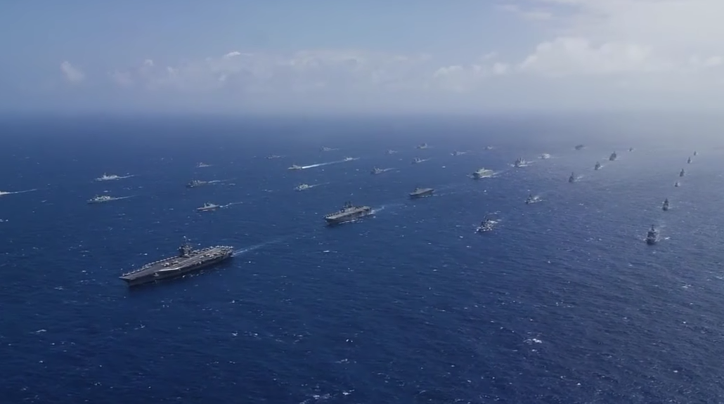 THIS RIMPAC FOOTAGE LOOKS CGI ... BUUUUT ITS REAL - THE SITREP MILITARY BLOG