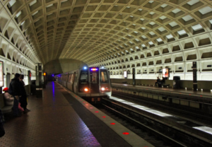 dc metro station for post