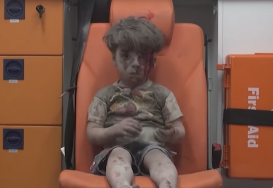 BOY PULLED FROM RUBBLE ALIVE AFTER RUSSIAN AIRSTRIKE - THE SITREP MILITARY BLOG