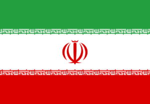 iran flag for post