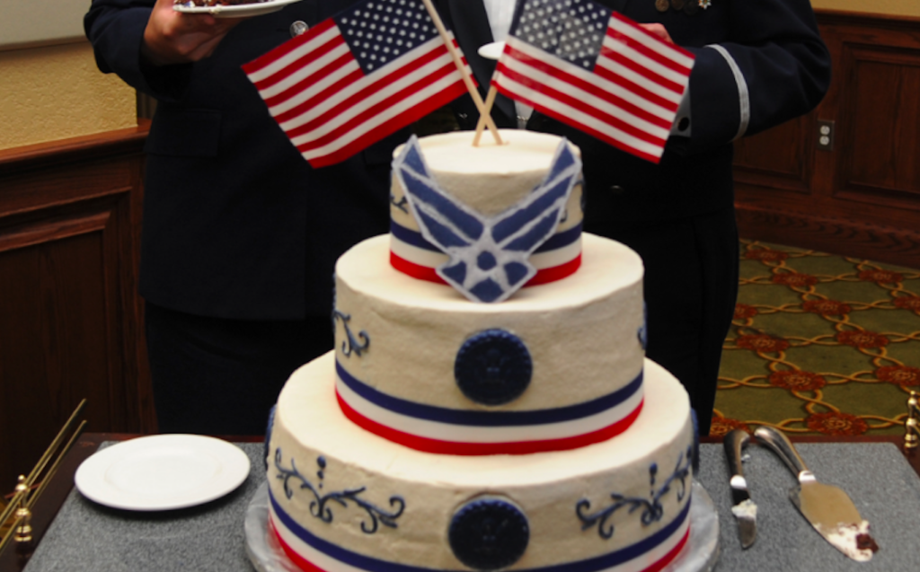 The Air Force Is About To Bake Their Jets Like Birthday Cakesthe
