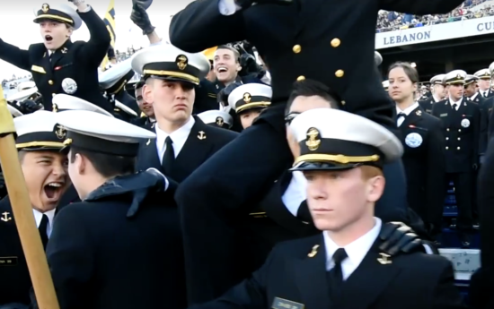 NAVY MIDSHIPMEN CONQUER INTERNET'S ROLLING MANNEQUIN CHALLENGE - THE SITREP MILITARY BLOG