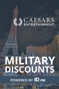 Caesars Military Discount