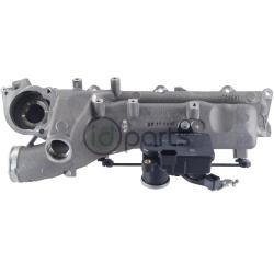 Oem mercedes intake manifold w swirl flap motor right for 2007 mercedes benz gl450 intake manifold