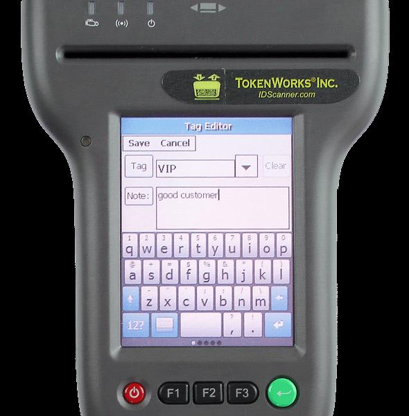 IDVisor 310 ID Scanner Tag Editor