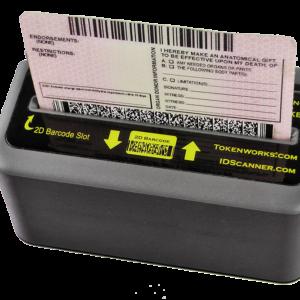 IDWedgeKB ID Scanner Form Filler Card Reader
