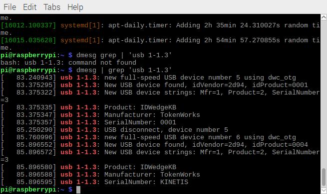 idwedgekb id scanner linux dmesg