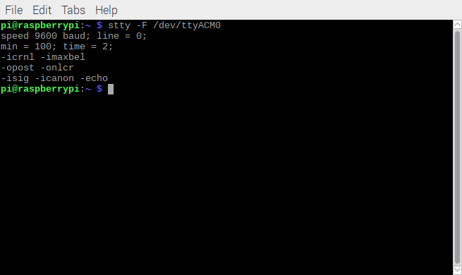 linux determine serial port settings idwedgekb