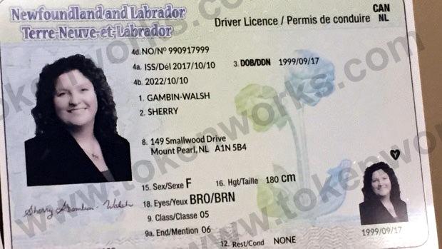 New Newfoundland Driver's License Design