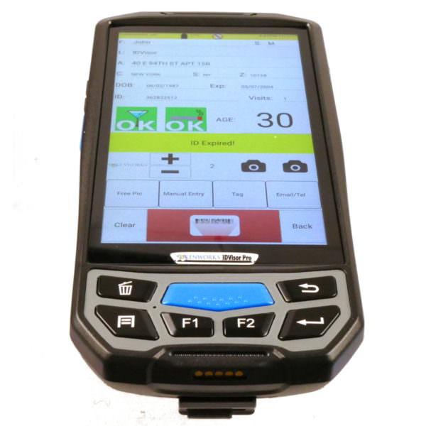 IDVisor Smart Plus Pogo ID Scanner 1200 1200
