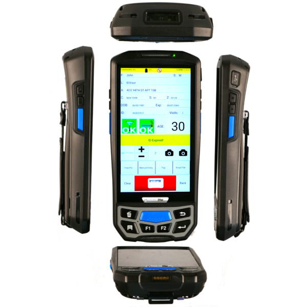 IDvisor Smart Plus 5 view ID Scanner