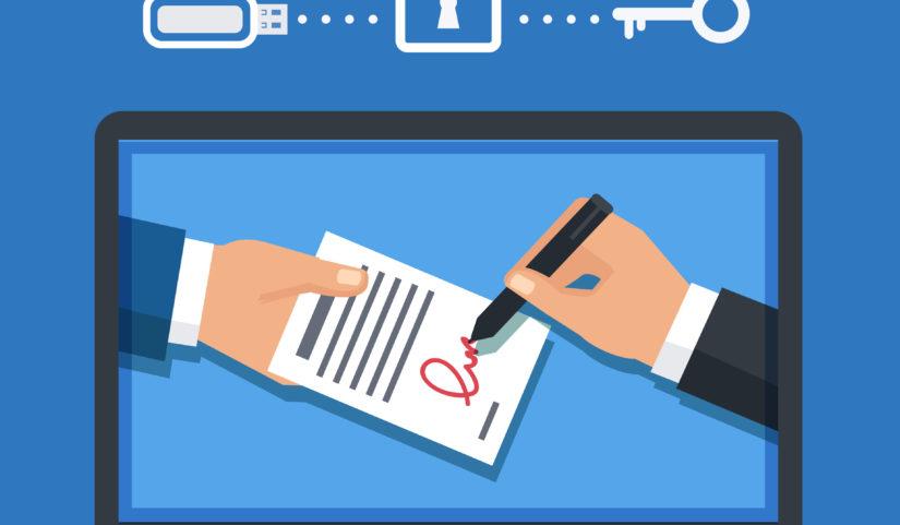Certificado digital tem validade jurídica