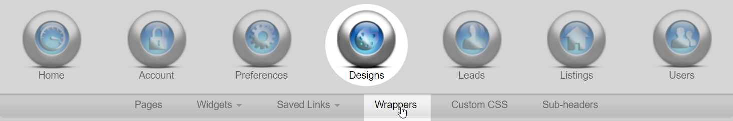 Wrapper navigation