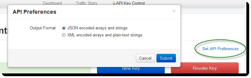API Key code
