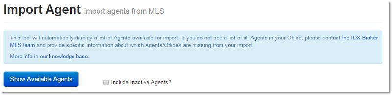 import agent