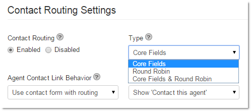 Manage Core Fields