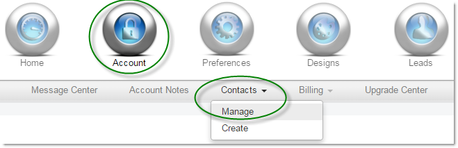 Account Contacts