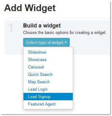 Select Signup