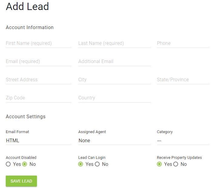 add lead