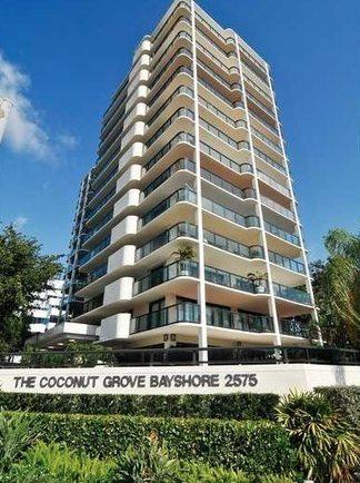 Coconut Grove Bayshore Condo