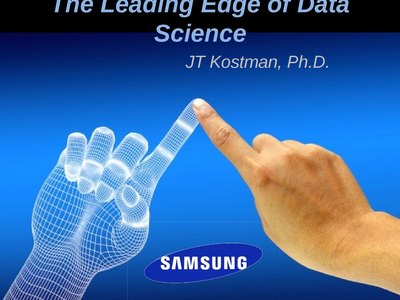 The Leading Edge of Data Science image