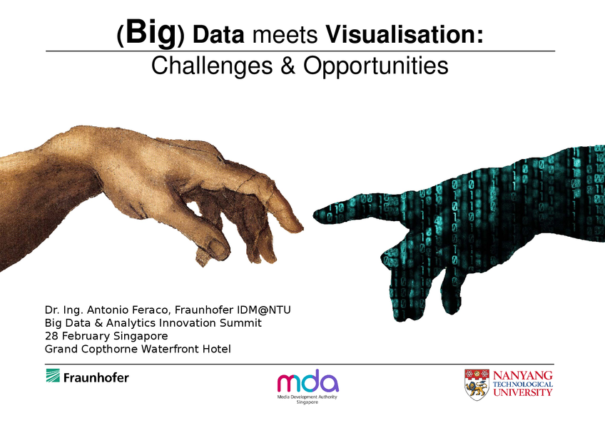 The role of Interactivity and Visualisation to better gather insights from Big Data